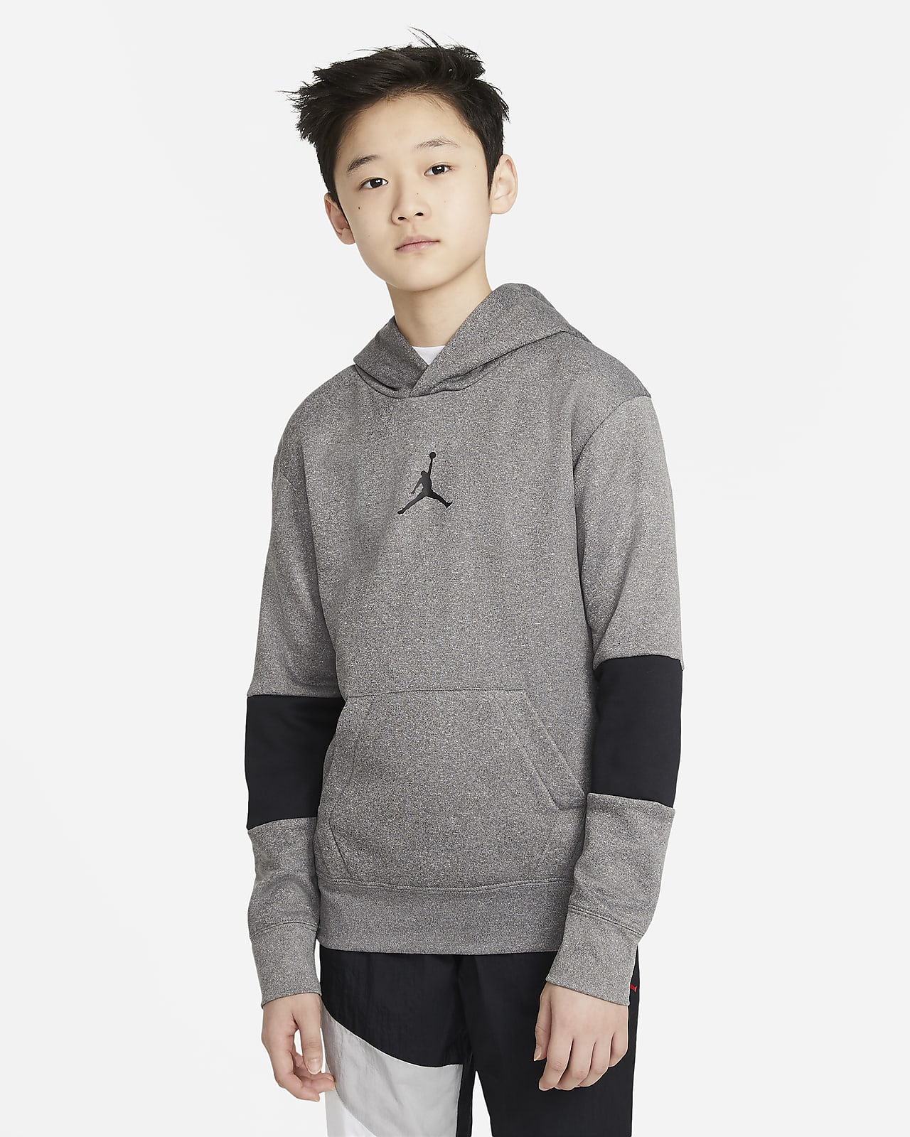 Jordan Therma Big Kids' (Boys') Pullover Hoodie