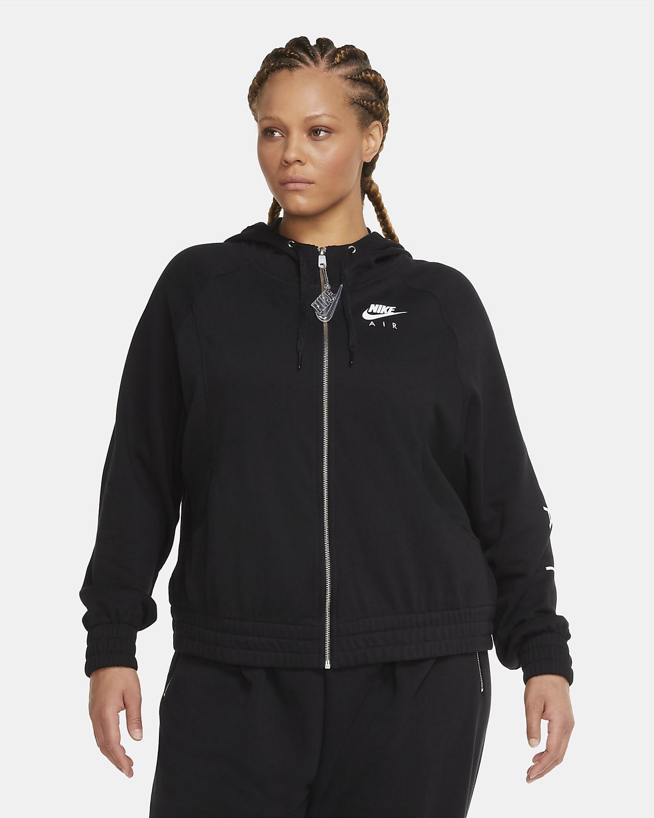 Nike Air Women's Full-Zip Fleece Hoodie (Plus Size)