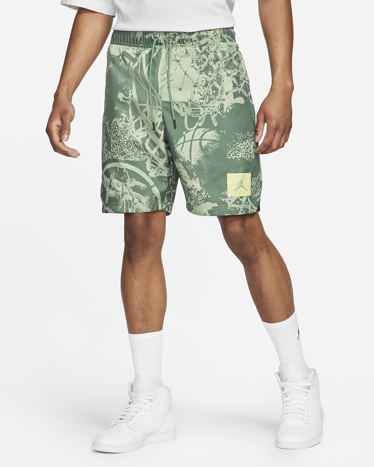 Jordan Fligth Poolside-Shorts mit Print für Herren