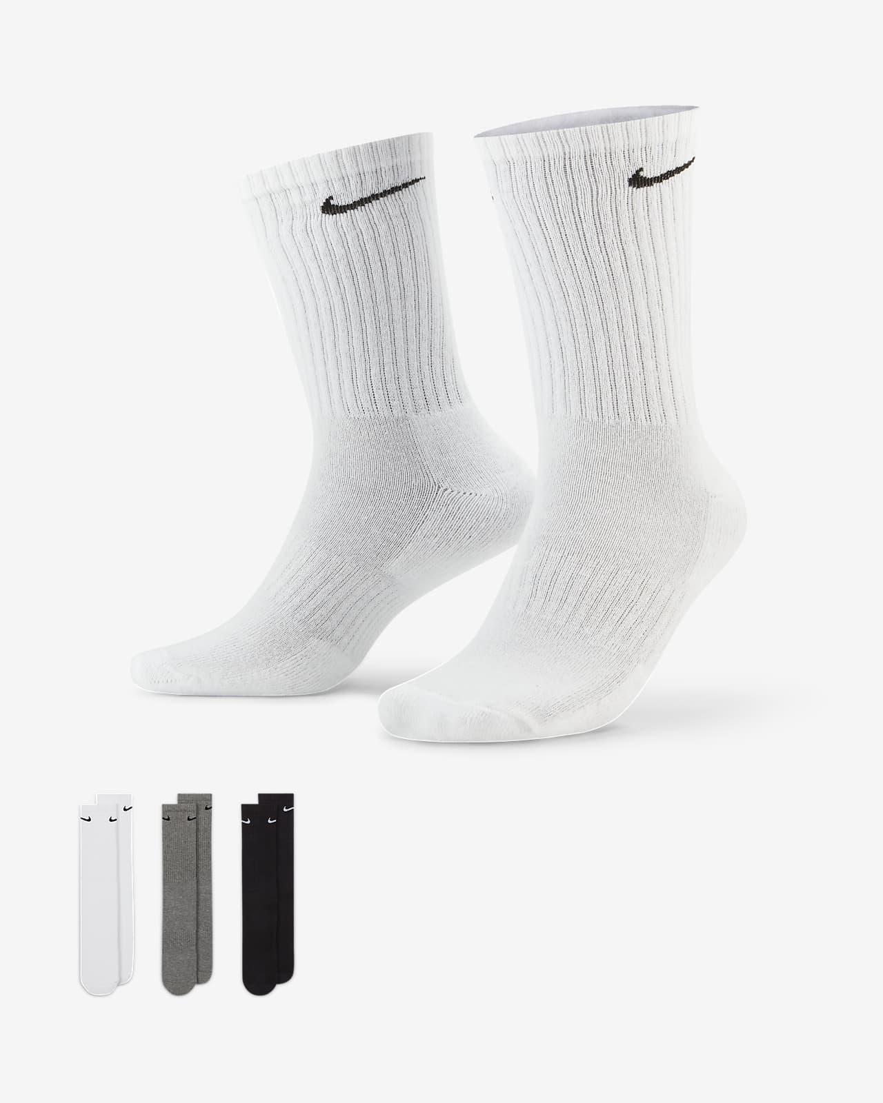 Calcetines deportivos de entrenamiento Nike Everyday Cushioned (3 pares)