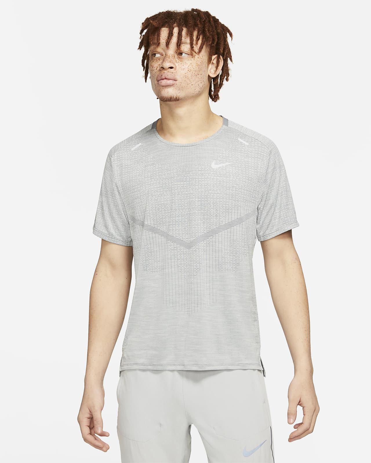 Pánské běžecké tričko Nike Dri-FIT ADV Techknit Ultra skrátkým rukávem