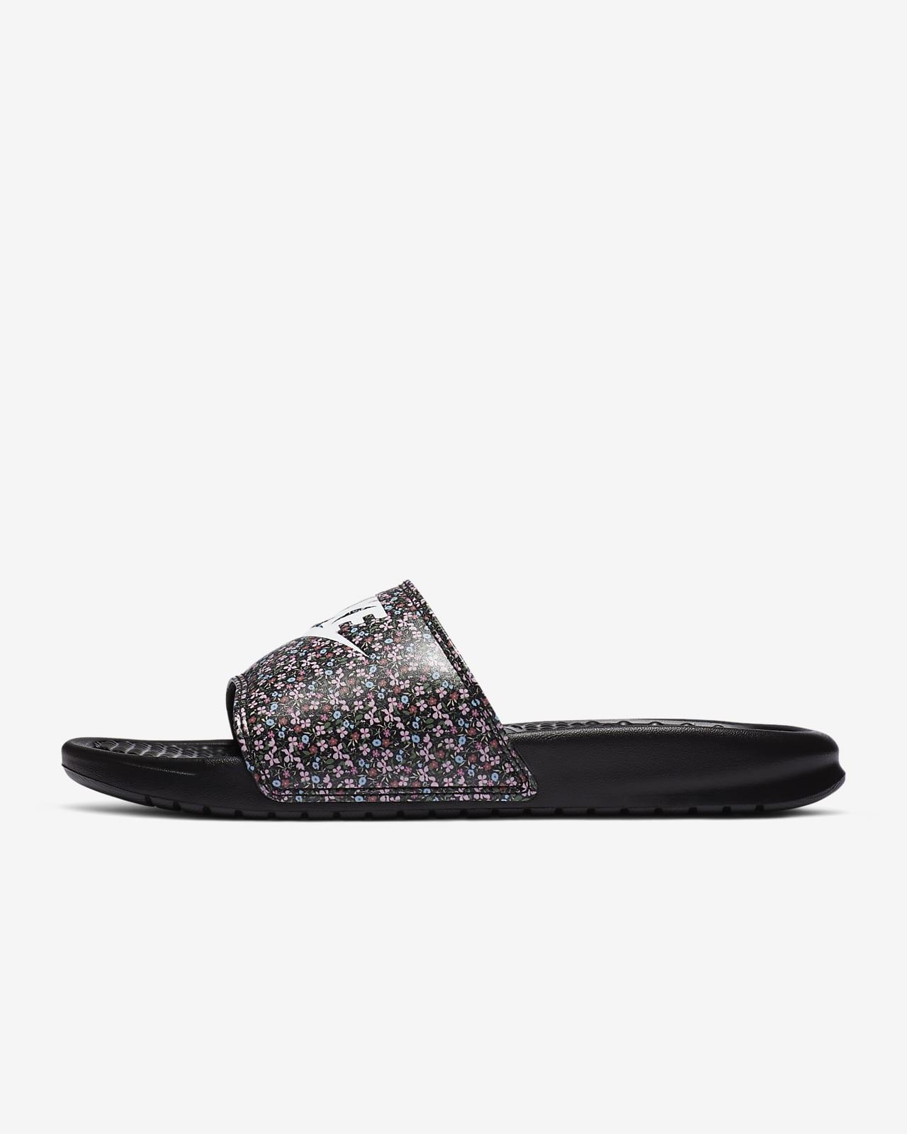 Nike Benassi JDI Print 女子拖鞋