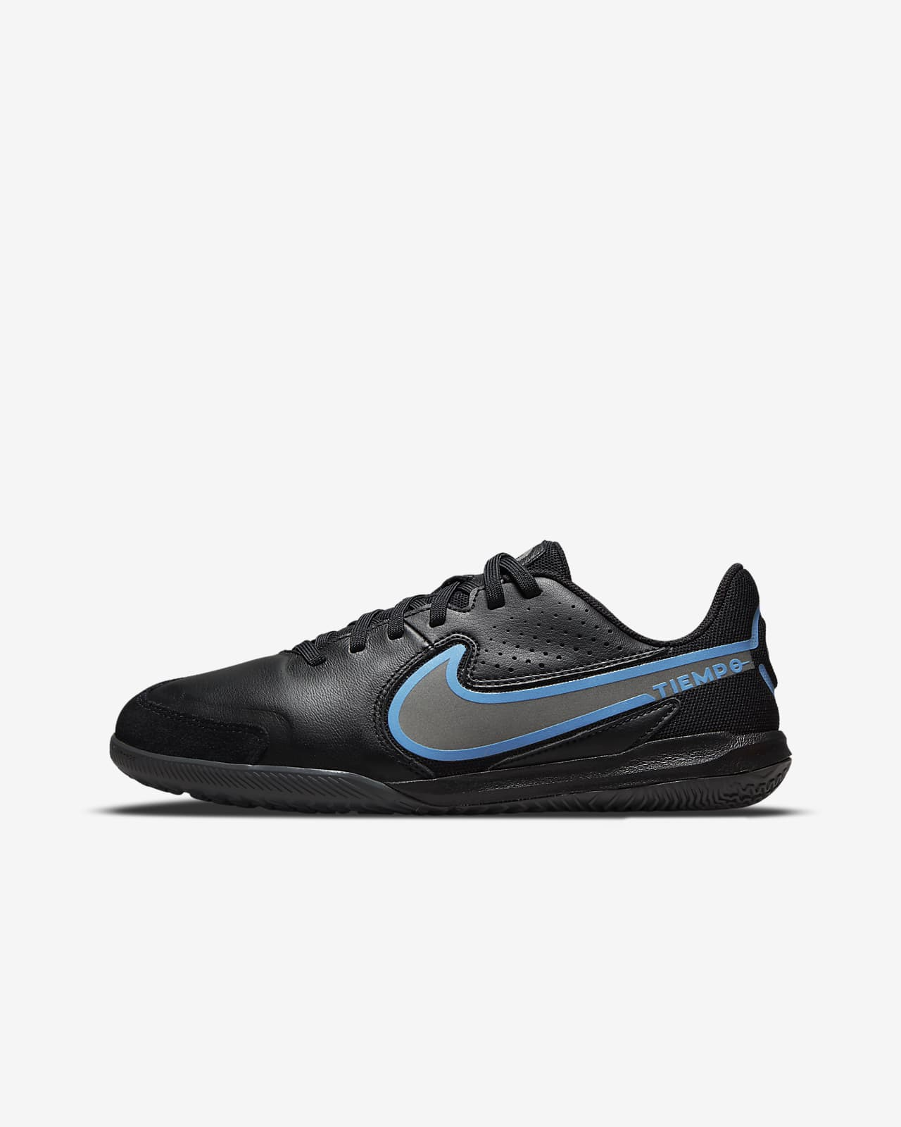 Nike Jr. Tiempo Legend 9 Academy IC 小/大童體育館/路面足球鞋