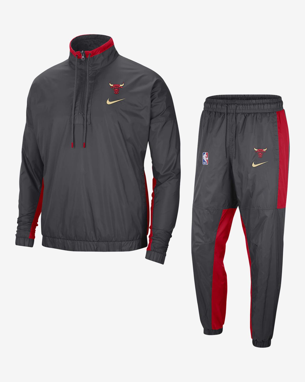 Chicago Bulls City Edition Courtside Nike NBA-trainingspak voor heren