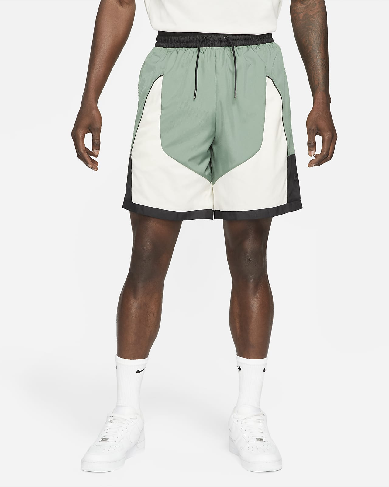 Short de basketball Nike Throwback pour Homme