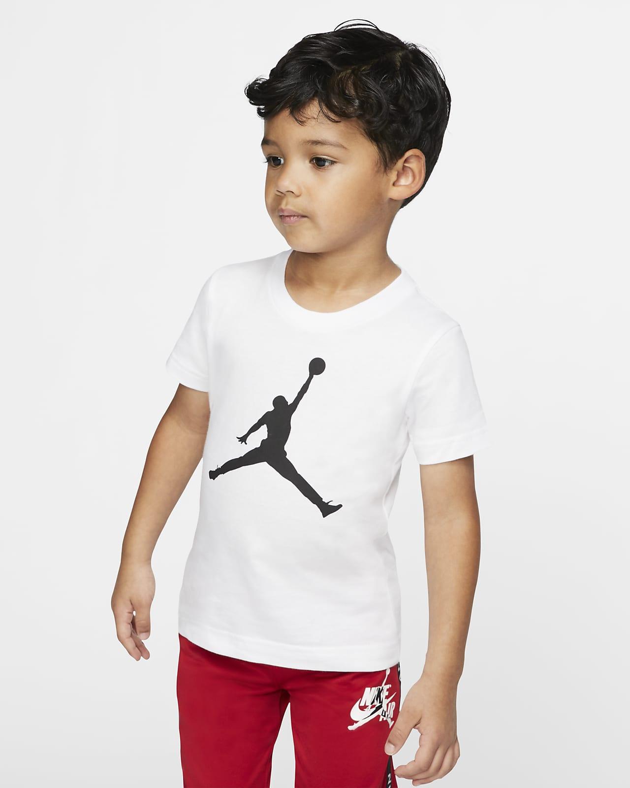 Jordan Jumpman T-shirt met korte mouwen voor peuters
