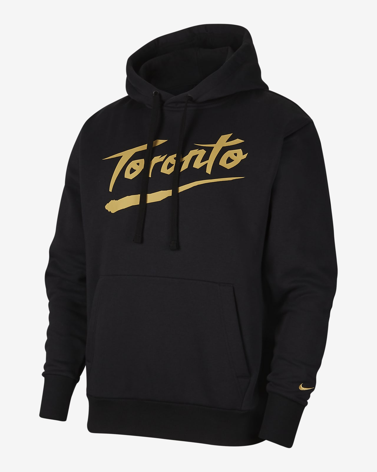 Toronto Raptors City Edition Logo Men's Nike NBA Pullover Hoodie