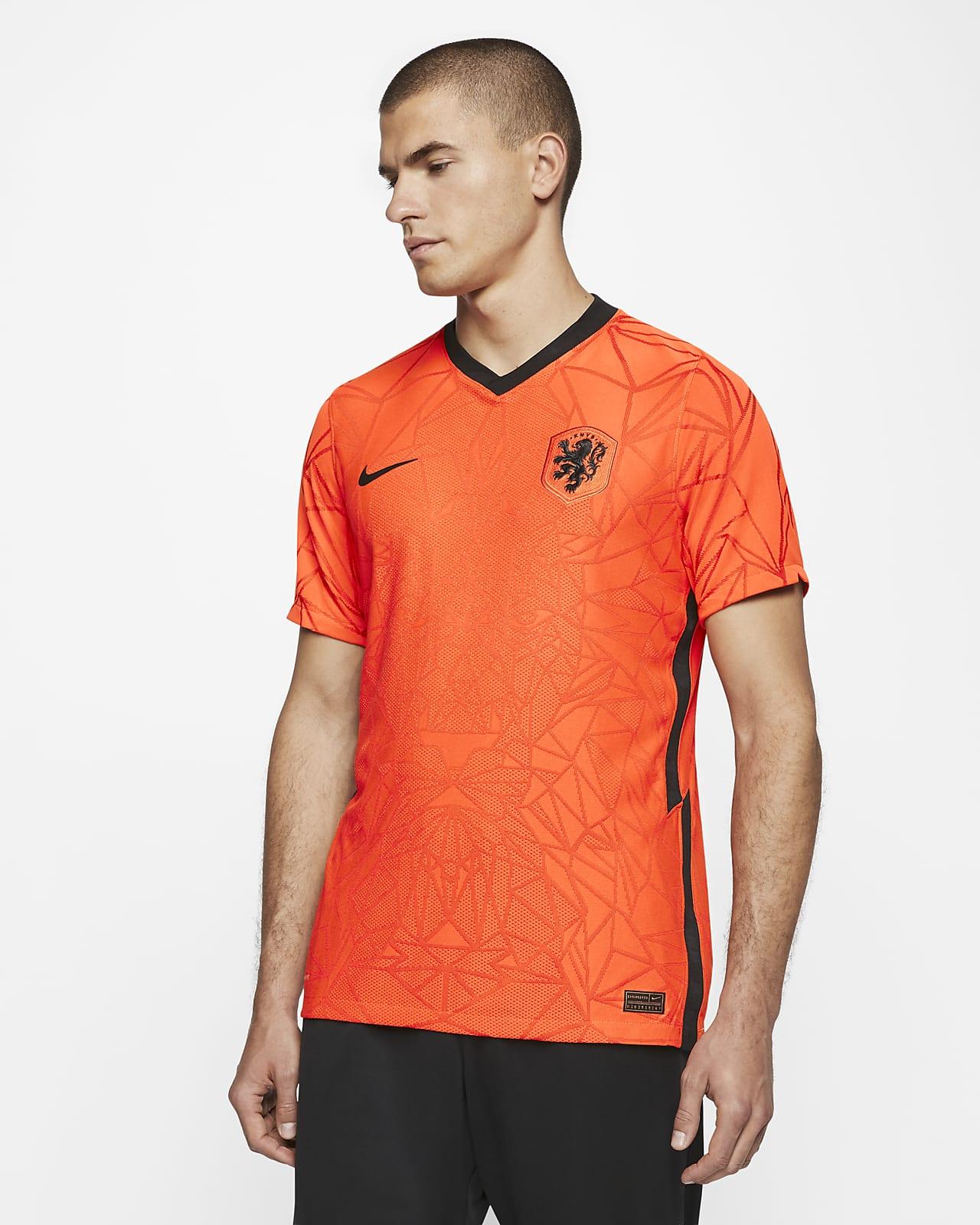 Celda de poder átomo Destrucción  Camiseta de fútbol para hombre 2020 Holanda Vapor Match Home. Nike CL
