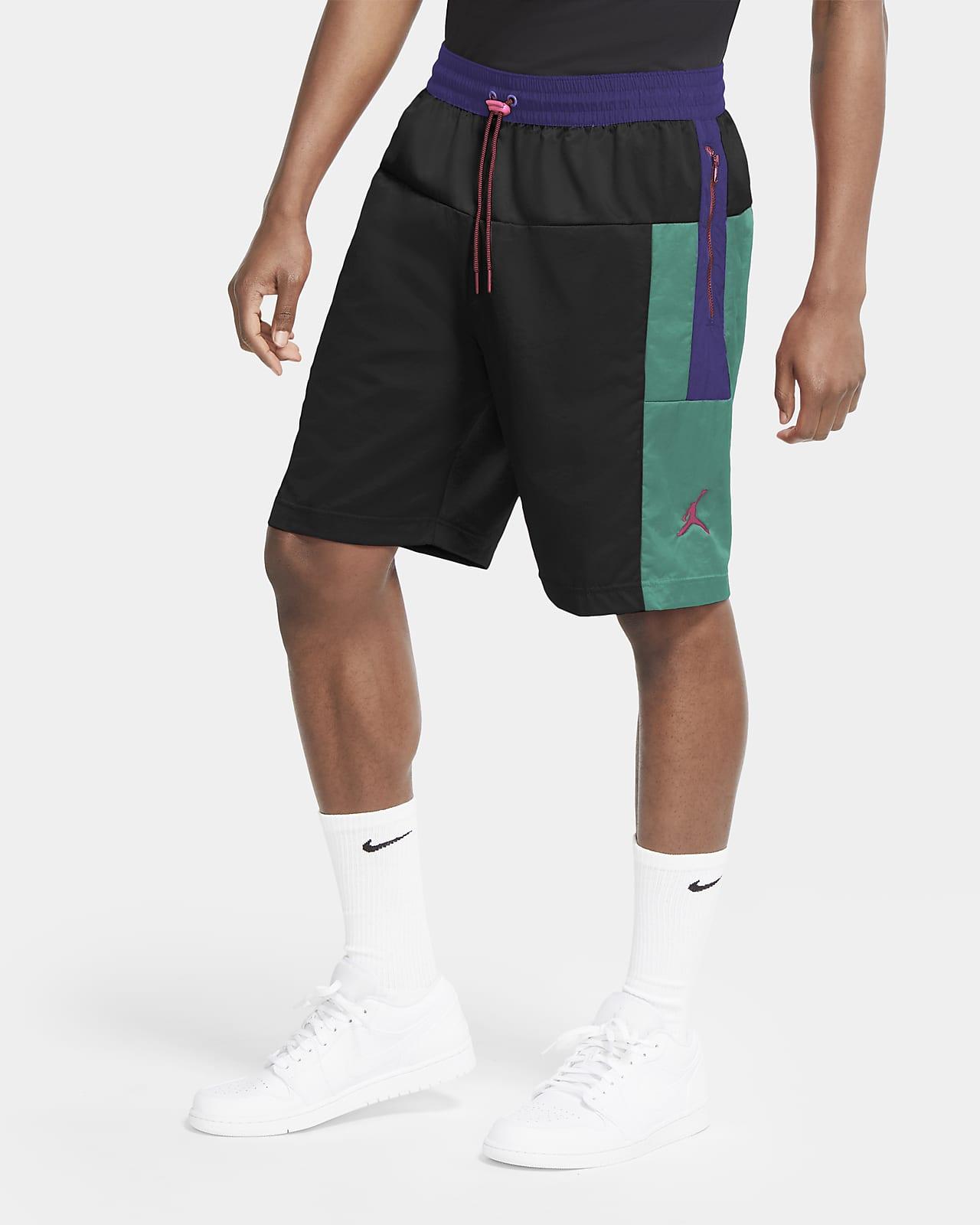 กางเกงบล็อคขาสั้นผู้ชาย Jordan Jumpman