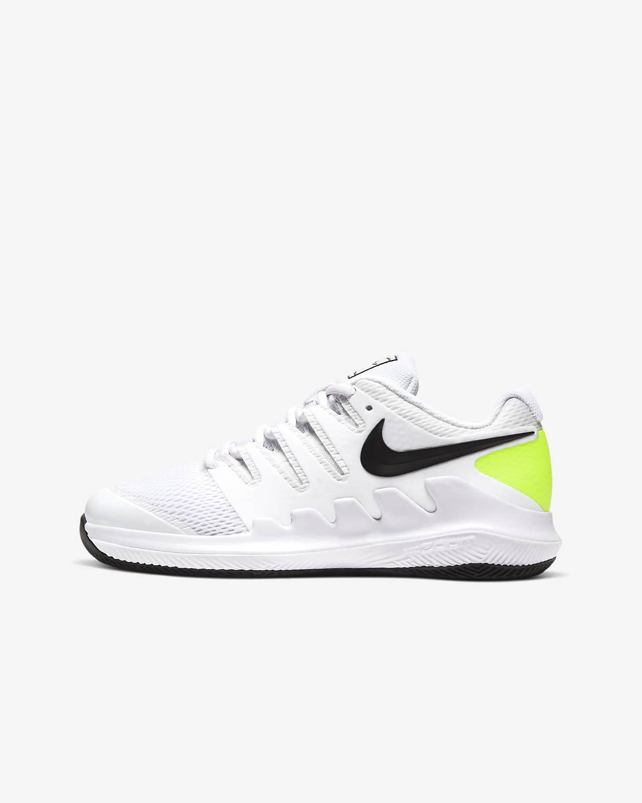NikeCourt Jr. Vapor X Younger/Older Kids' Tennis Shoe
