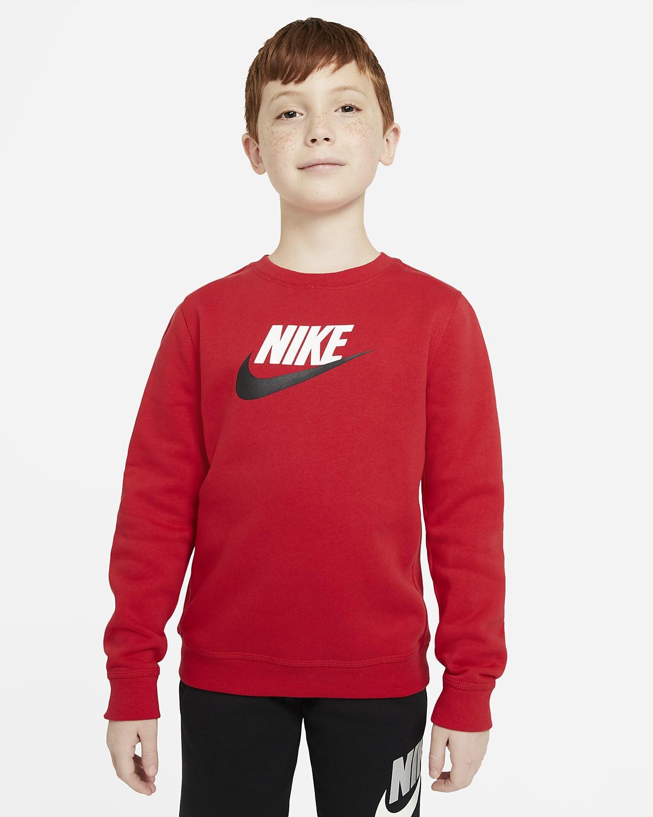 Haut Nike Sportswear Club Fleece pour Garçon plus âgé