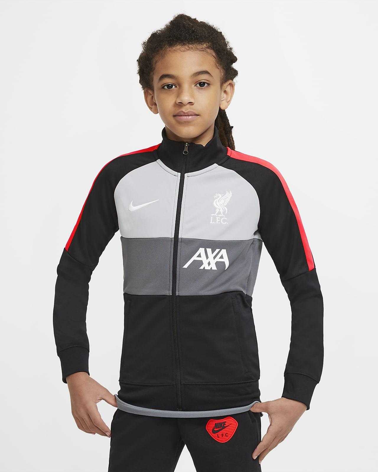 Liverpool FC-fodboldtræningsjakke til store børn