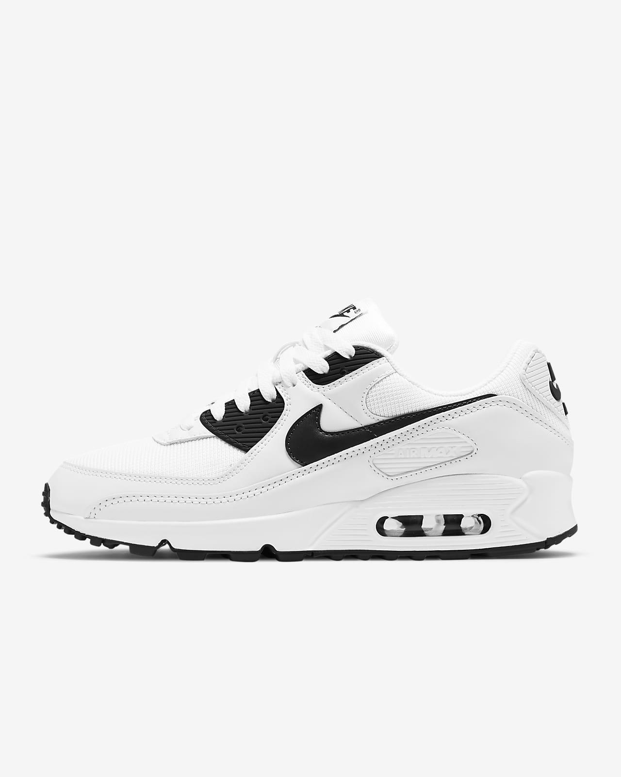 nike scarpe uomo air max 90 nero bianco