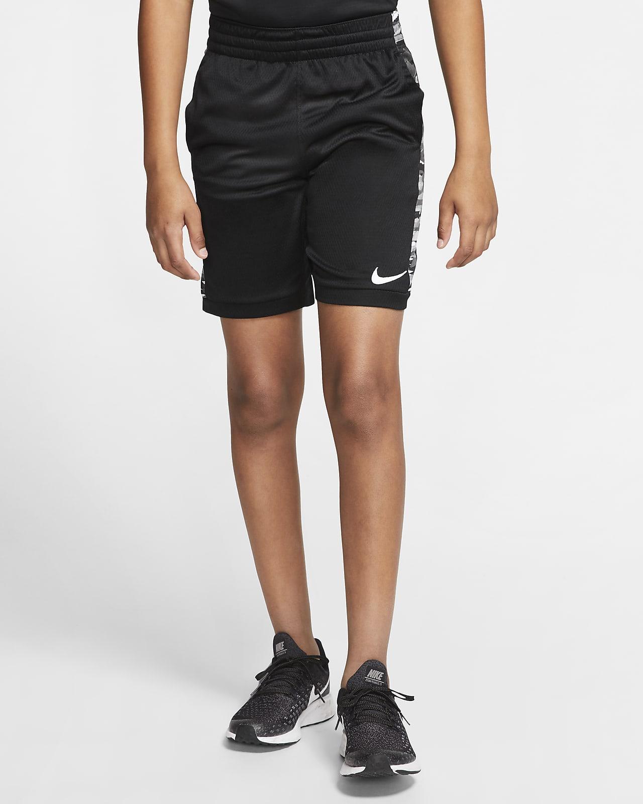 Shorts de entrenamiento estampados para niño talla grande Nike Trophy