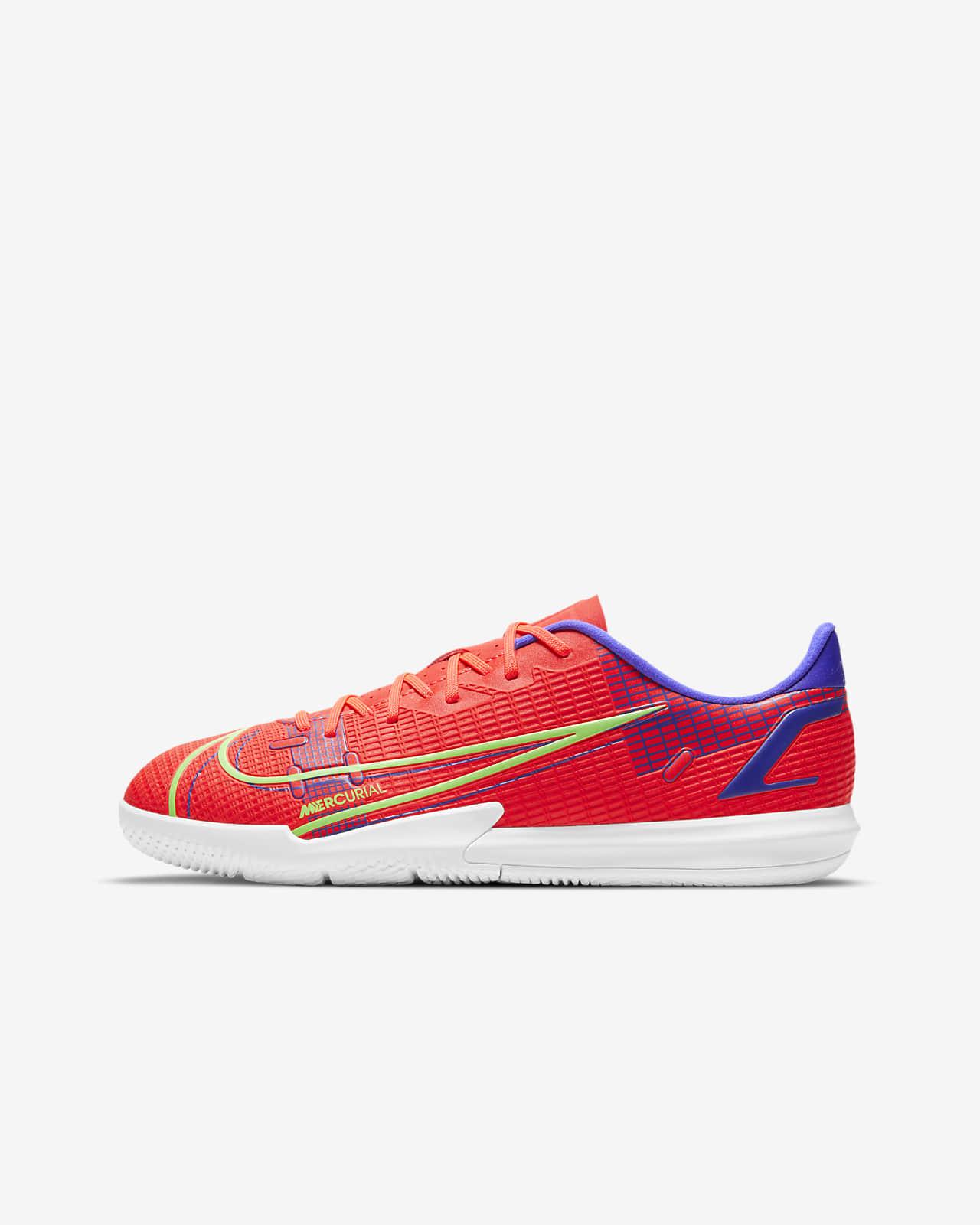 Nike Jr. Mercurial Vapor 14 Academy IC Younger/Older Kids' Indoor Court Football Shoe