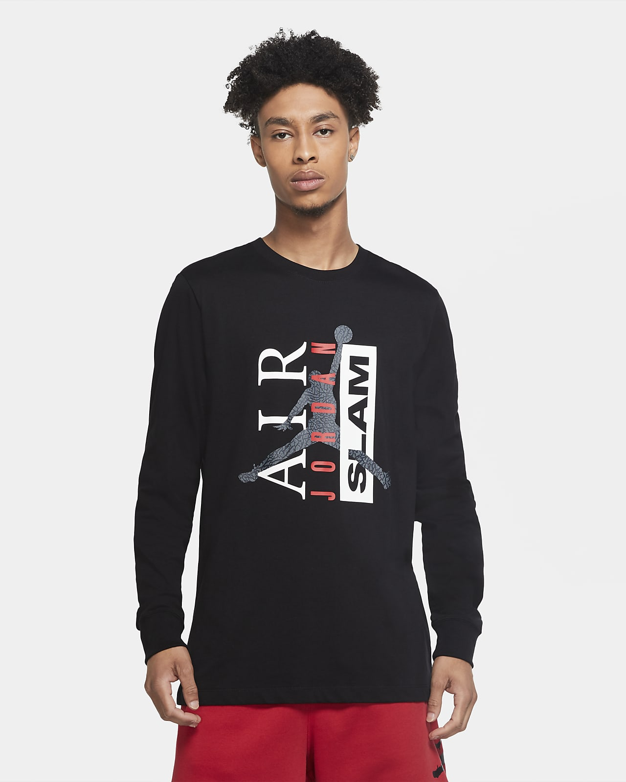 Jordan Legacy 1 Men's Long-Sleeve T-Shirt
