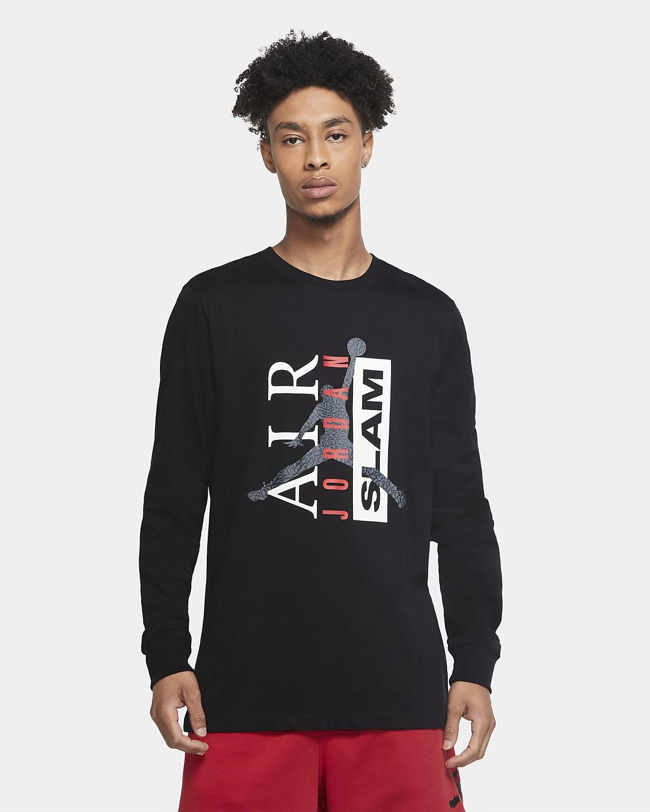 Jordan Legacy 1 Men's Long-Sleeve T-Shirt