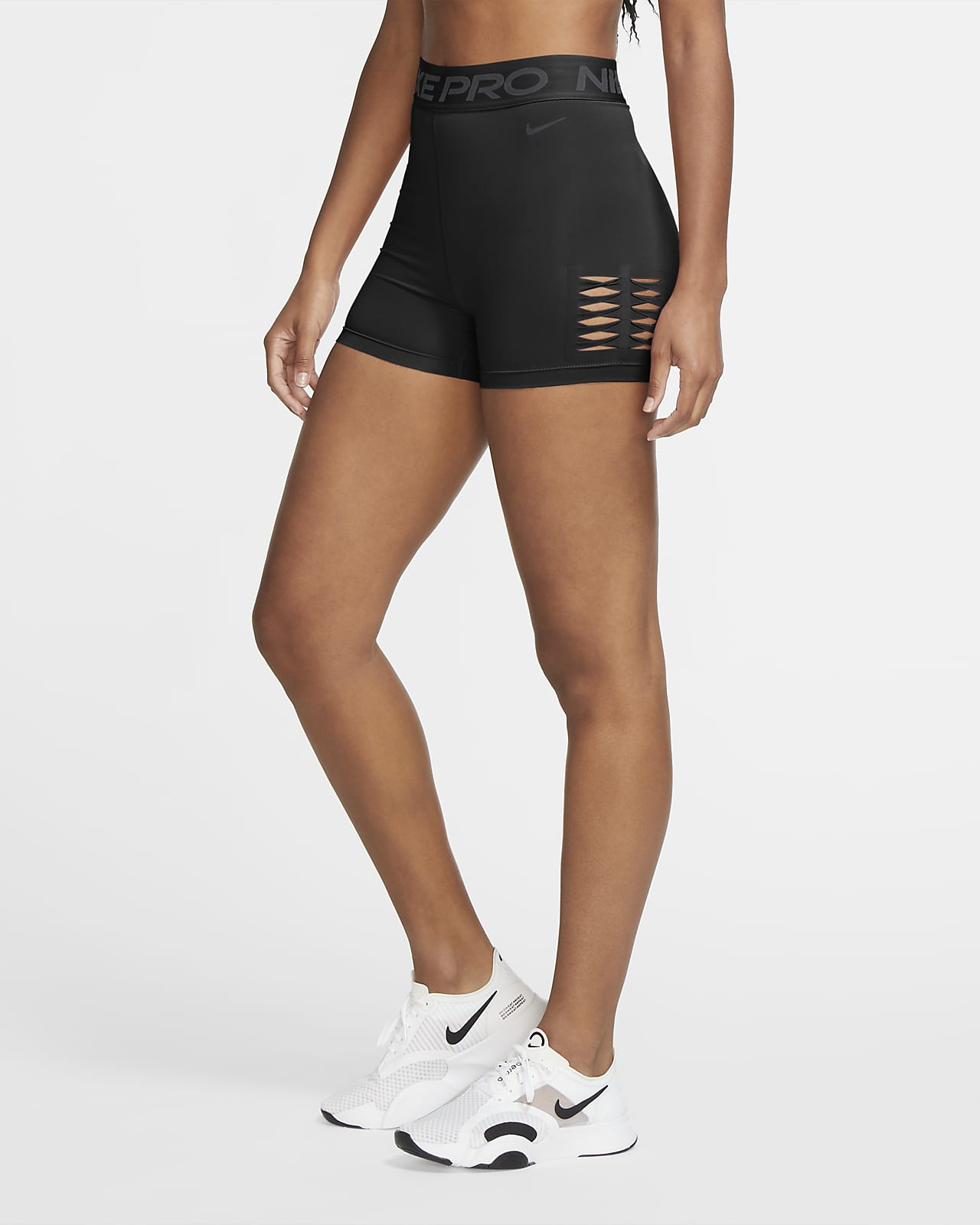 Nike Pro Women's High-Waisted Shorts