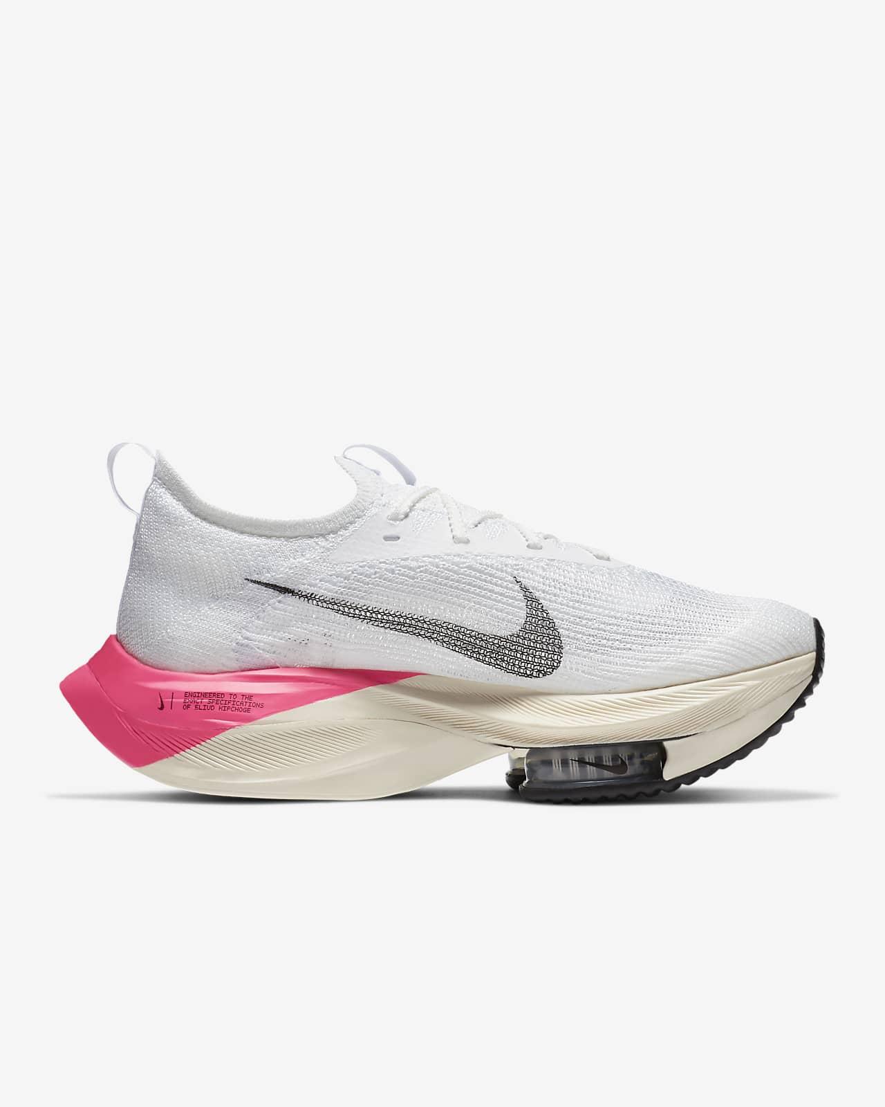 dolor de muelas tarifa Refinar  Nike Air Zoom Alphafly Next% Eliud Kipchoge Women's Racing Shoe. Nike GB