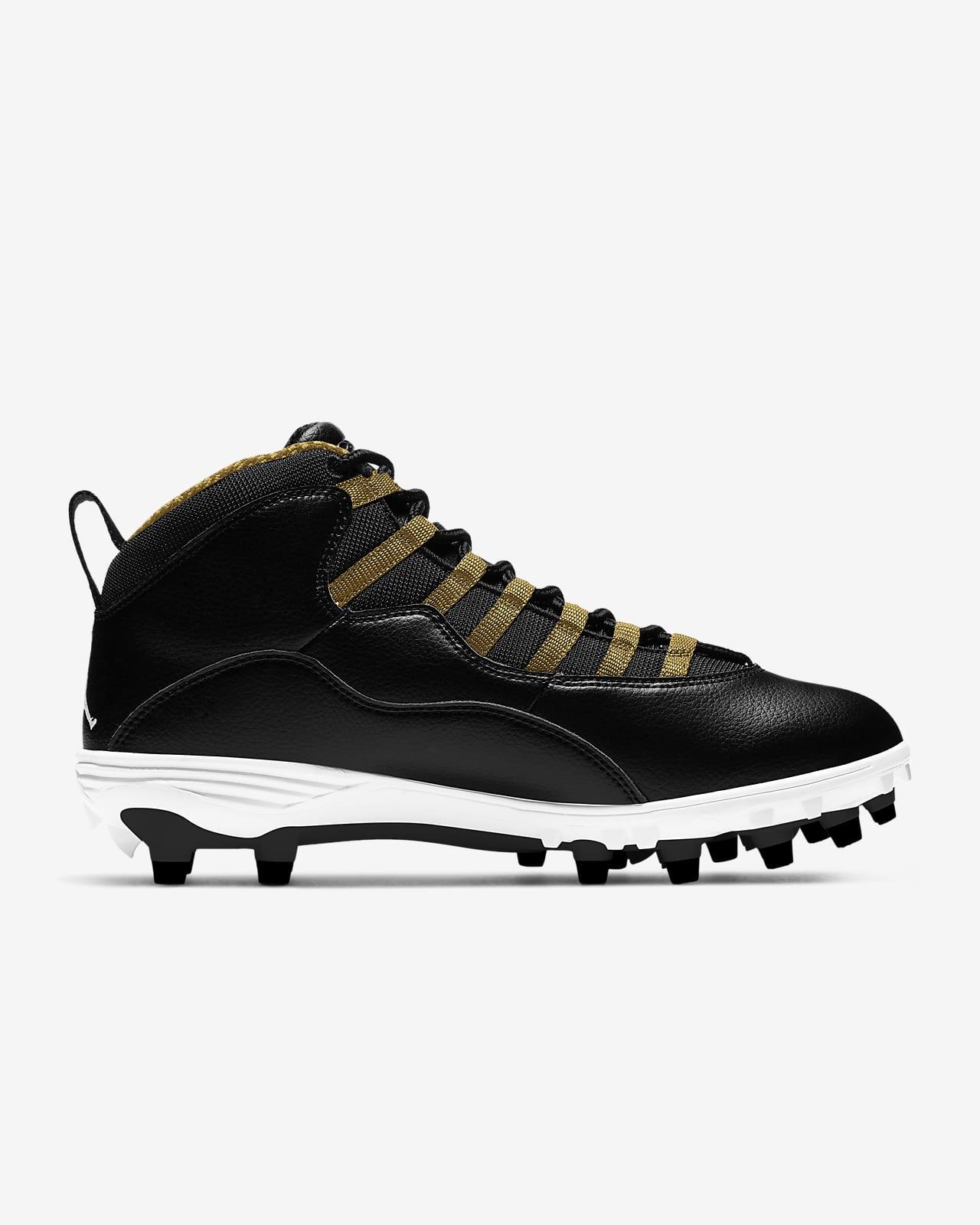 Jordan 10 Td Mid Men S Football Cleat Nike Com