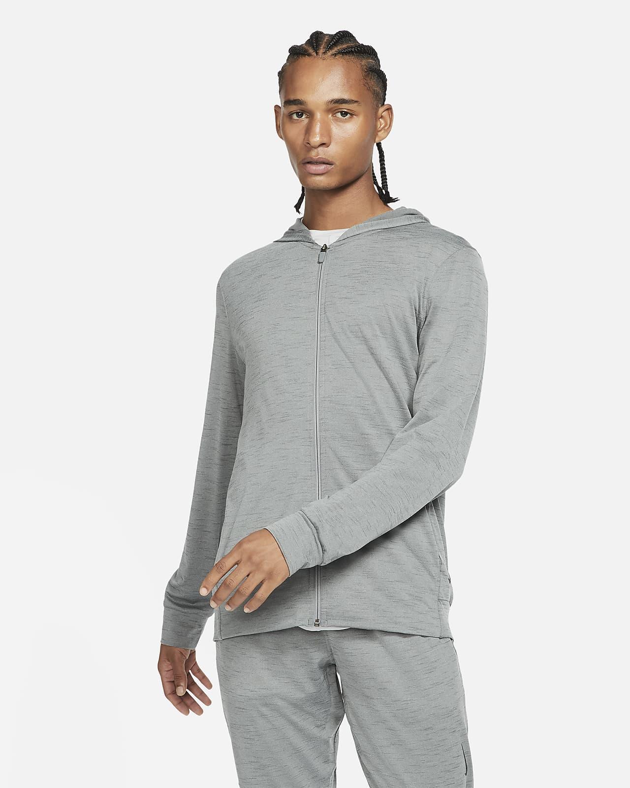 Pánská bunda Nike Yoga Dri-FIT se zipem po celé délce