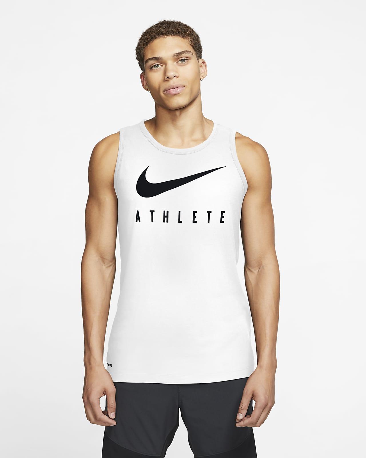 Nike Dri-FIT Camiseta de tirantes de entrenamiento con Swoosh - Hombre