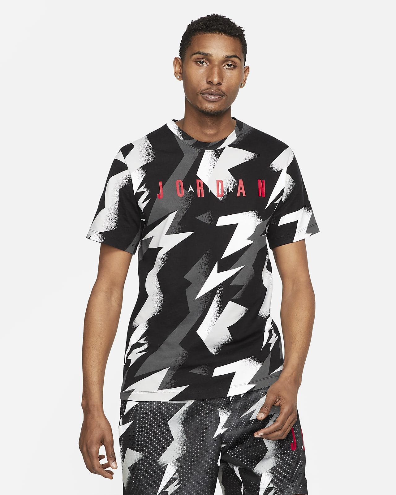Jordan Jumpman Air T-shirt met korte mouwen en print voor heren