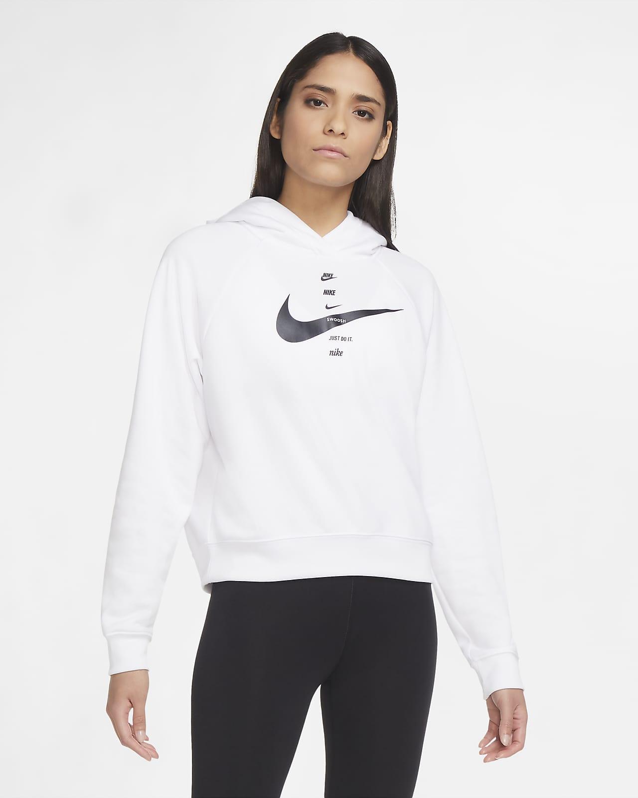 Damska bluza z kapturem Nike Sportswear Swoosh