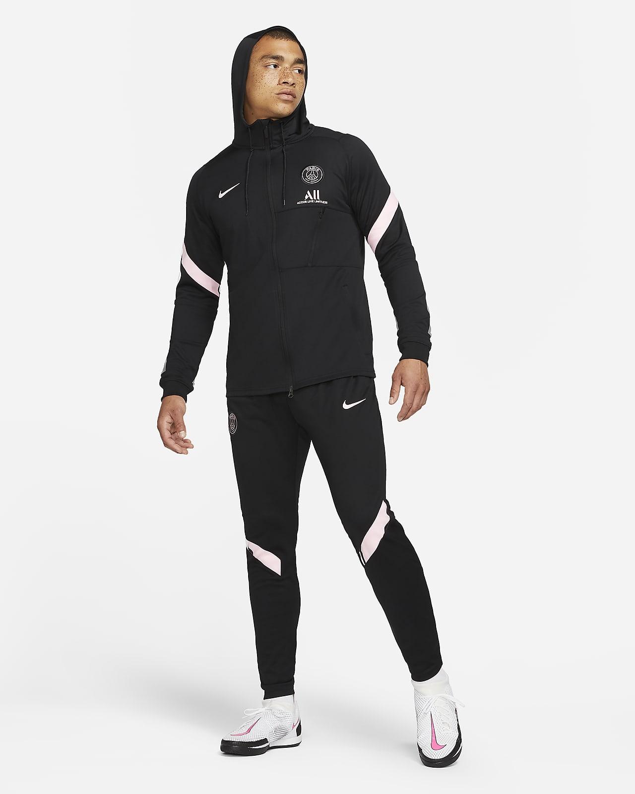 Survêtement de football Nike Dri-FIT Paris Saint-Germain Strike Extérieur pour Homme