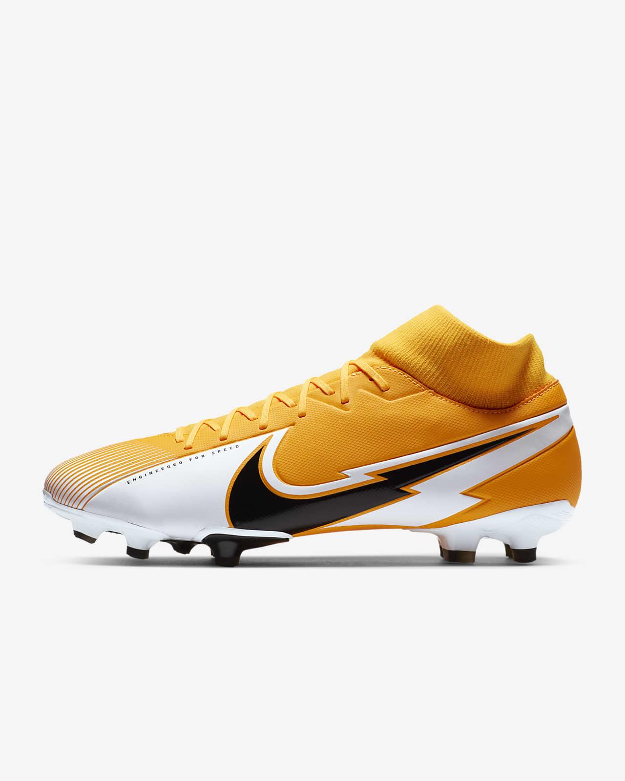 nike football chaussures orange