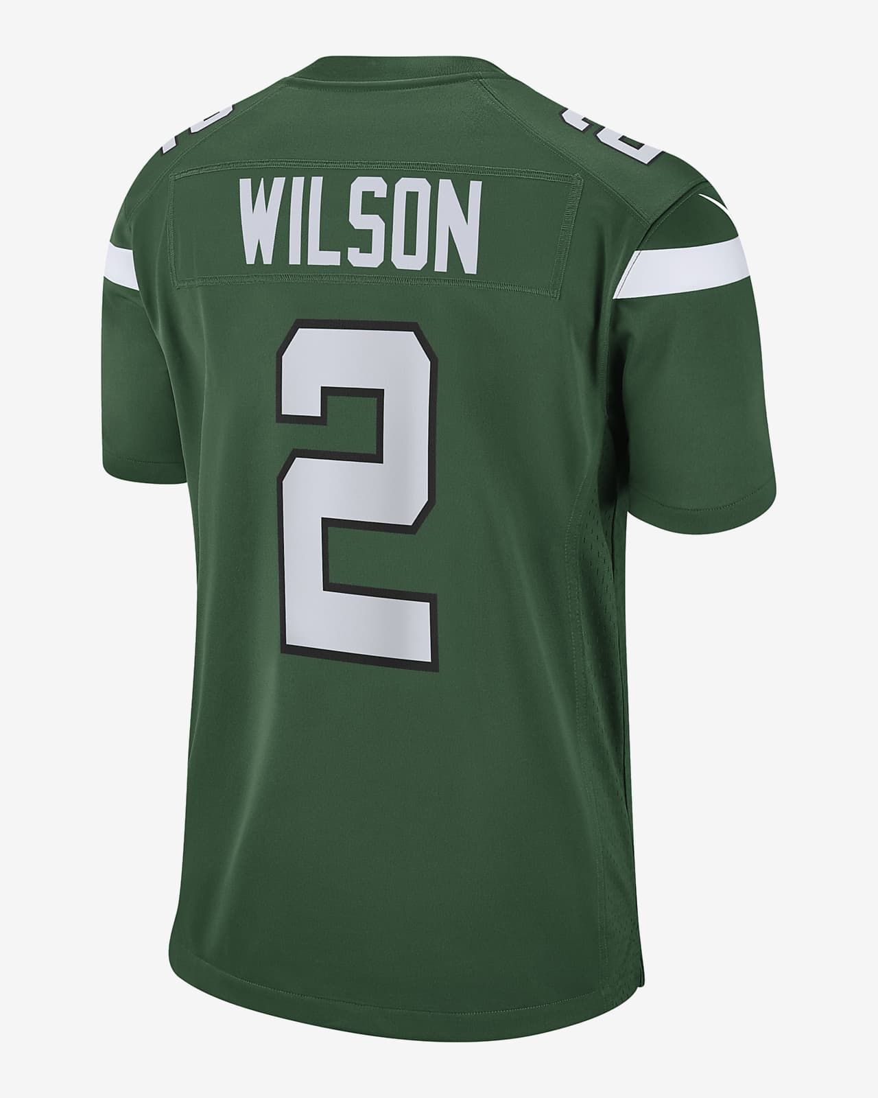 NFL New York Jets (Zach Wilson) Men's Game Football Jersey