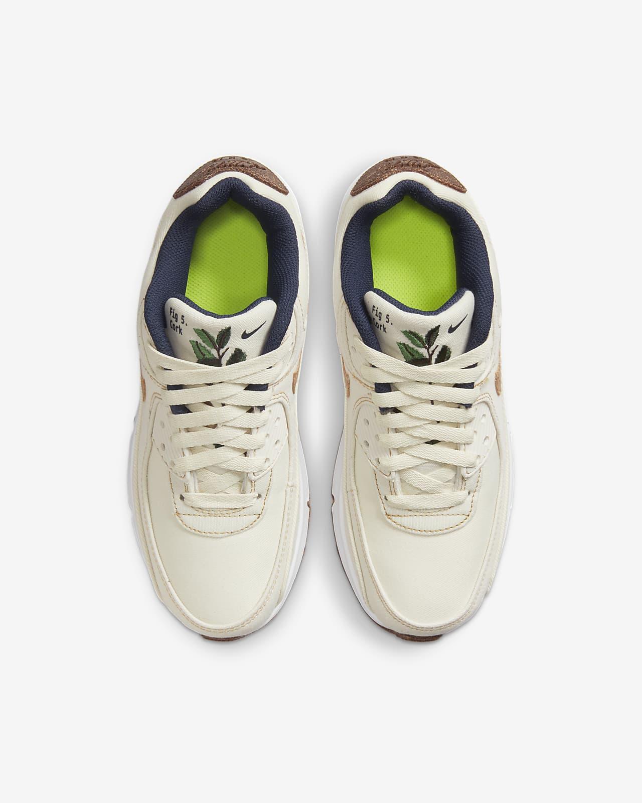 Nike Air Max 90 SE Big Kids' Shoes