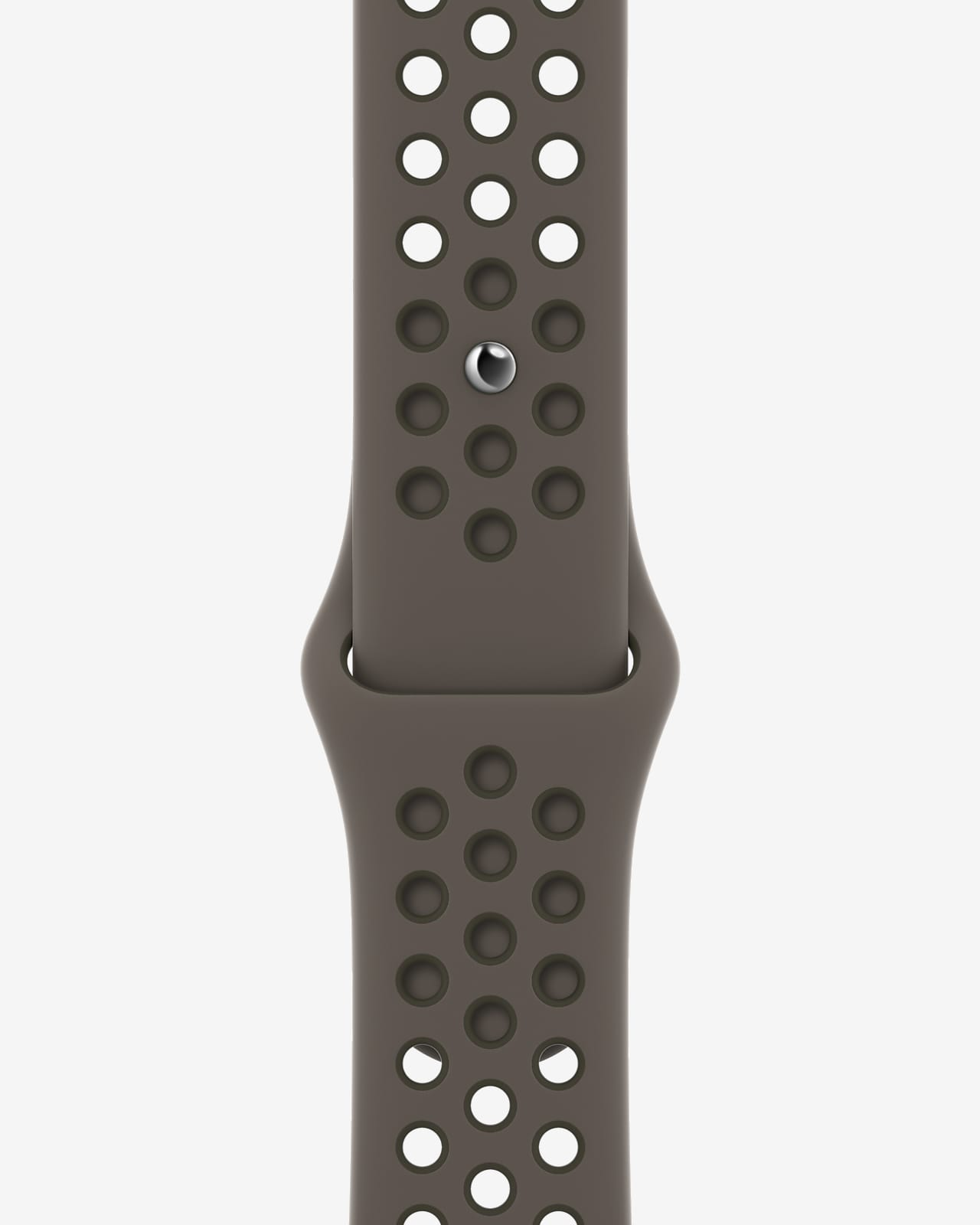 45mm Olive Grey/Cargo Khaki Nike Sport Band - Regular