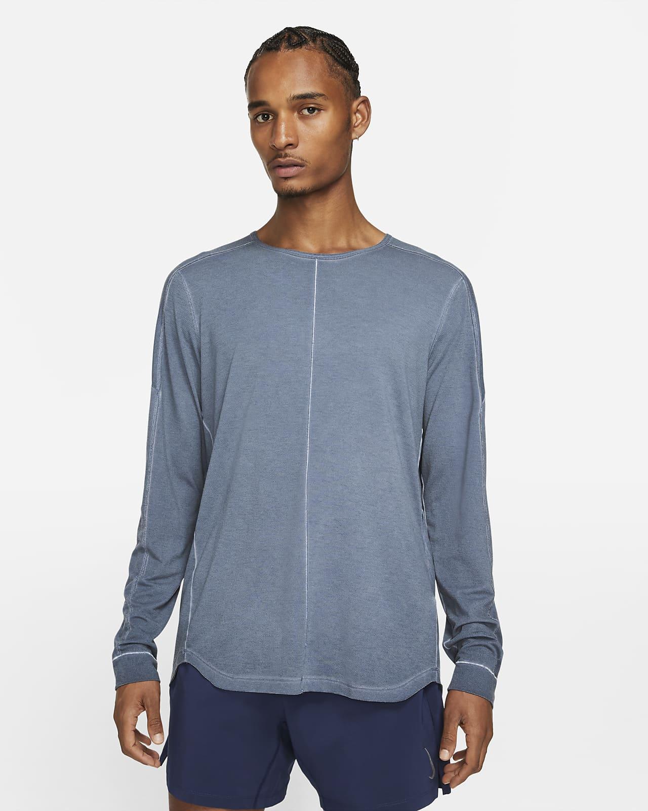 Pánské tričko sdlouhým rukávem Nike Yoga