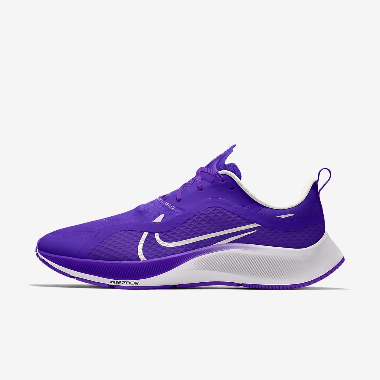 รองเท้าวิ่งออกแบบเอง Nike Air Zoom Pegasus 37 Shield By You