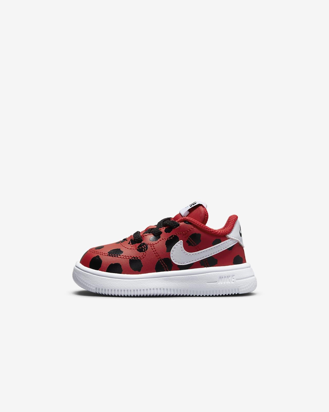 "Nike Force 1 '18 SE ""Little Bugs"" Baby & Toddler Shoe"