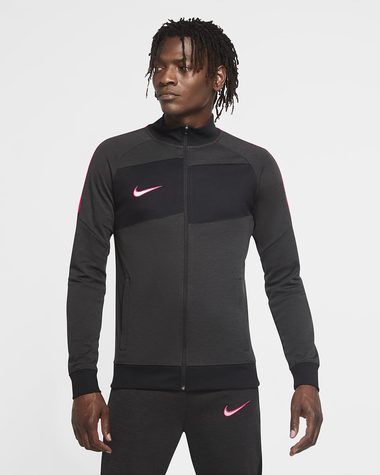 Nike Dri-FIT Academy Strick-Fußball-Track-Jacket für Herren