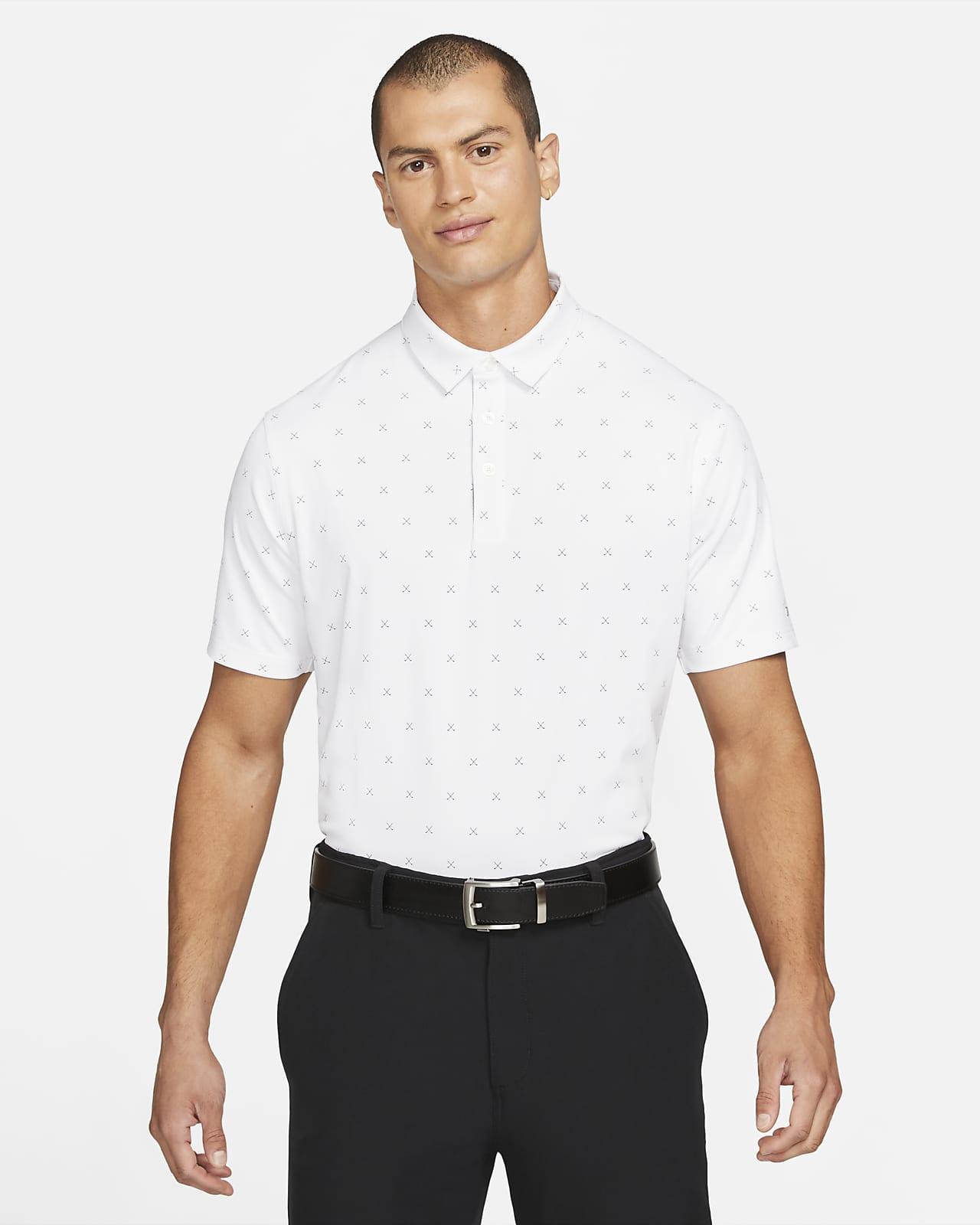 Nike Dri-FIT Player Golf-Poloshirt mit Print für Herren