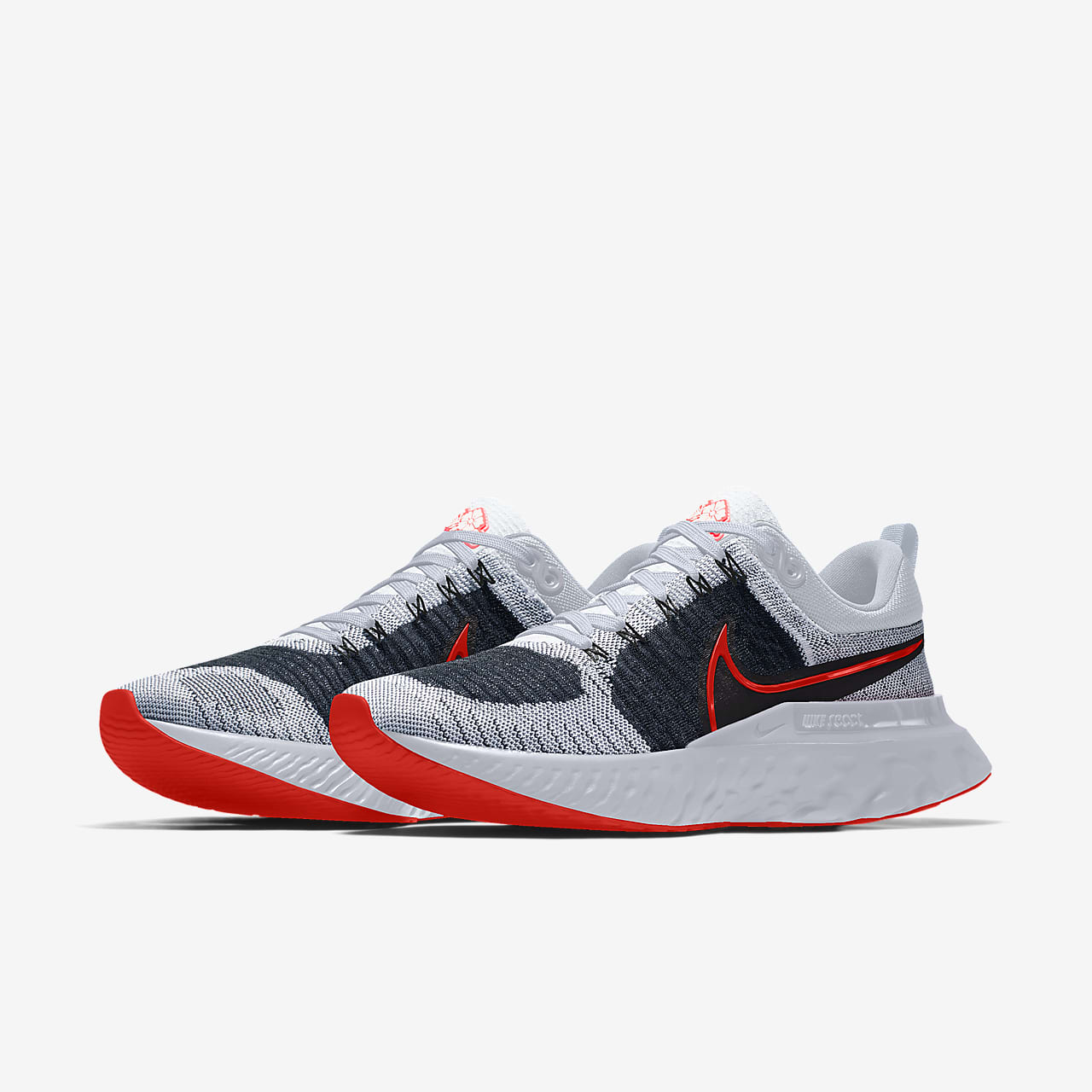 Chaussure de running personnalisable Nike React Infinity Run Flyknit 2 By You pour Homme