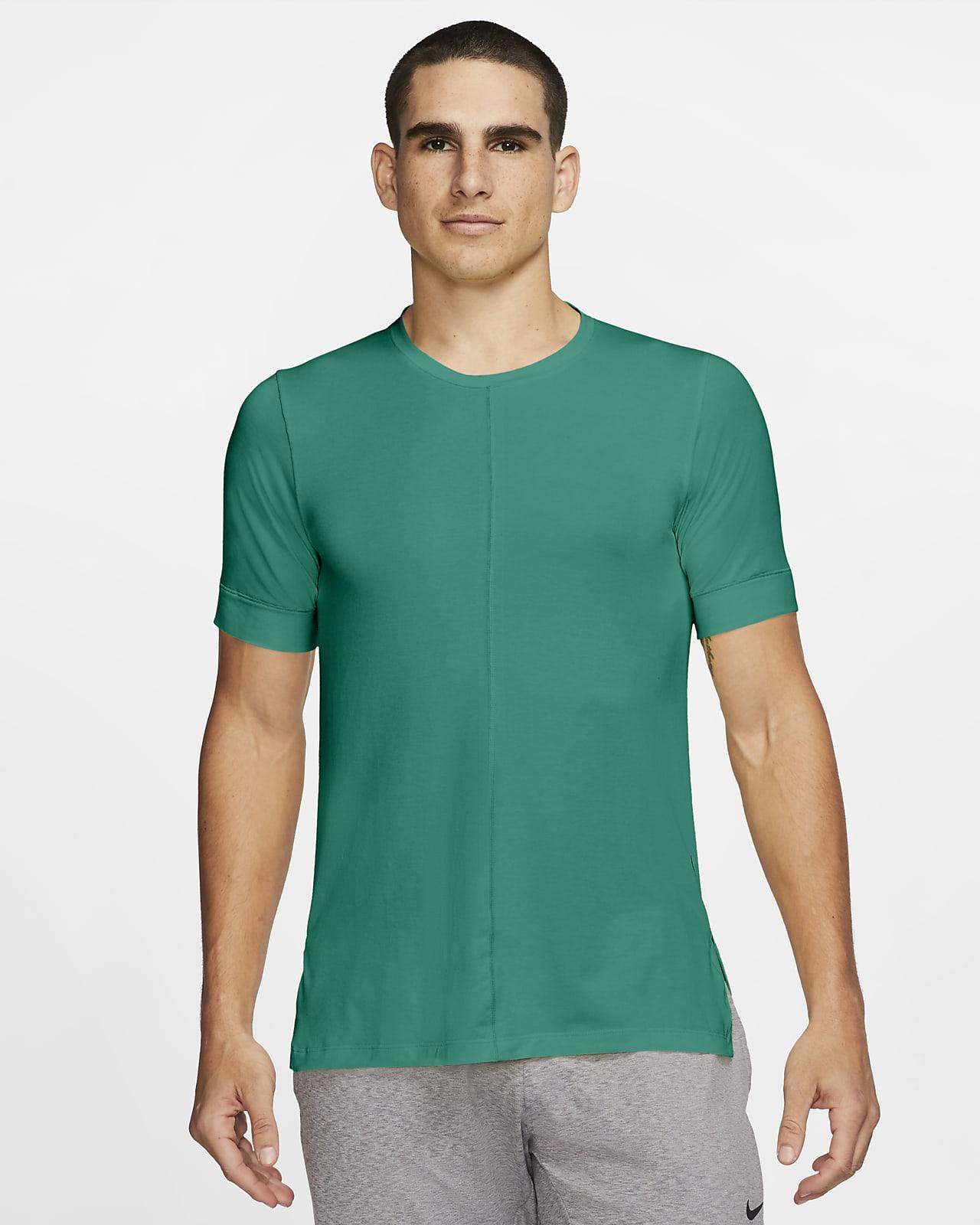 Мужская футболка с коротким рукавом Nike Yoga Dri-FIT