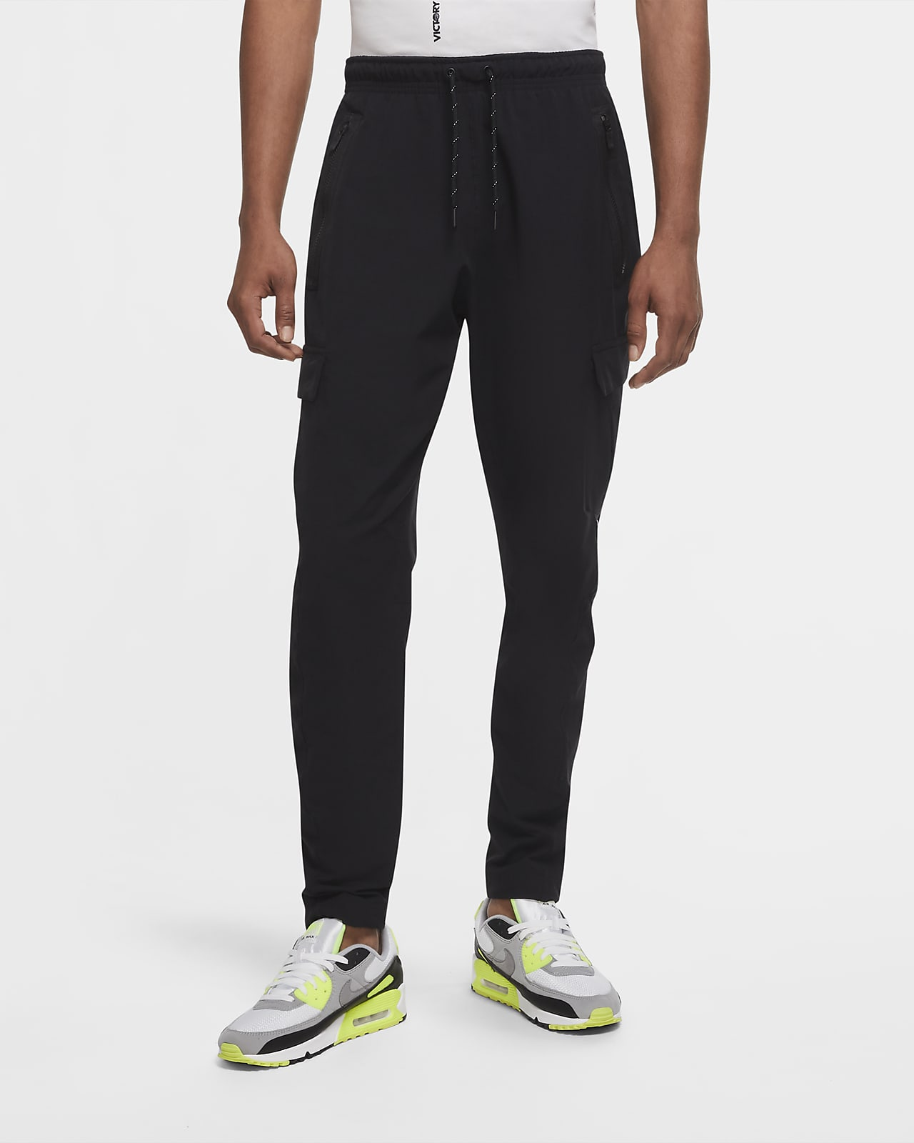 Nike Sportswear Air Max Pantalón con bolsillos de tejido Woven - Hombre