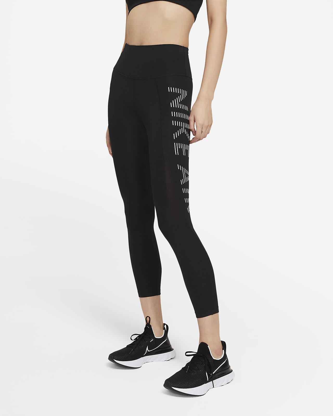 กางเกงวิ่งรัดรูปผู้หญิงยาว 7/8 ส่วน Nike Air Epic Fast