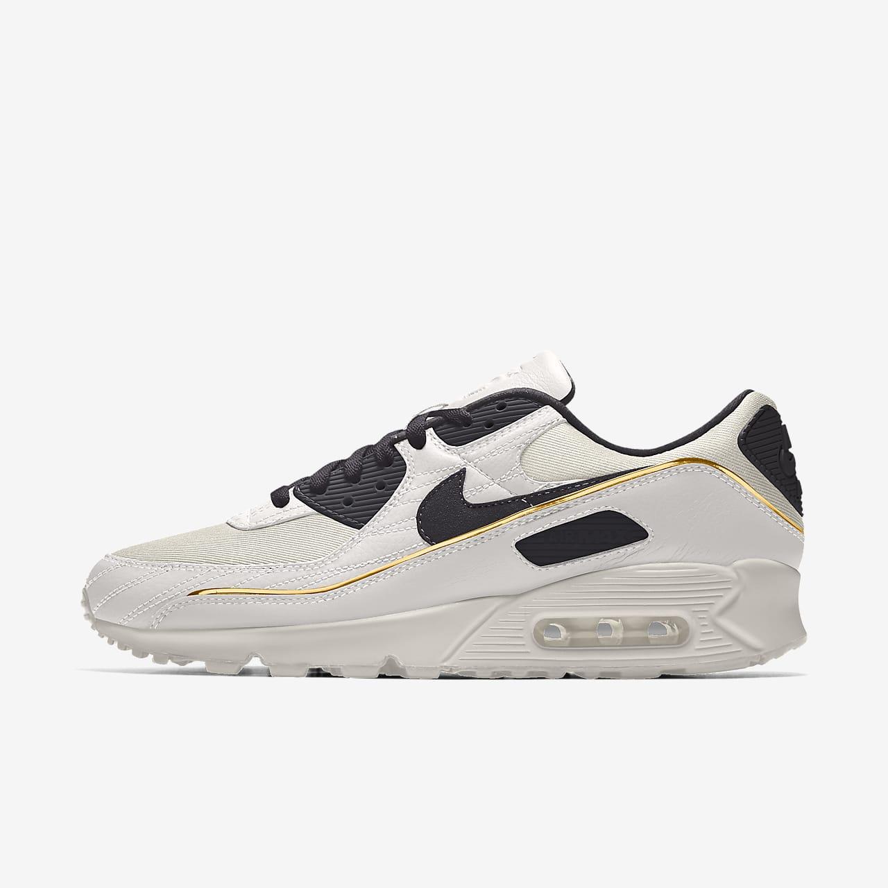 Nike Air Max 90 Unlocked By You Custom Men's Shoe. Nike DK