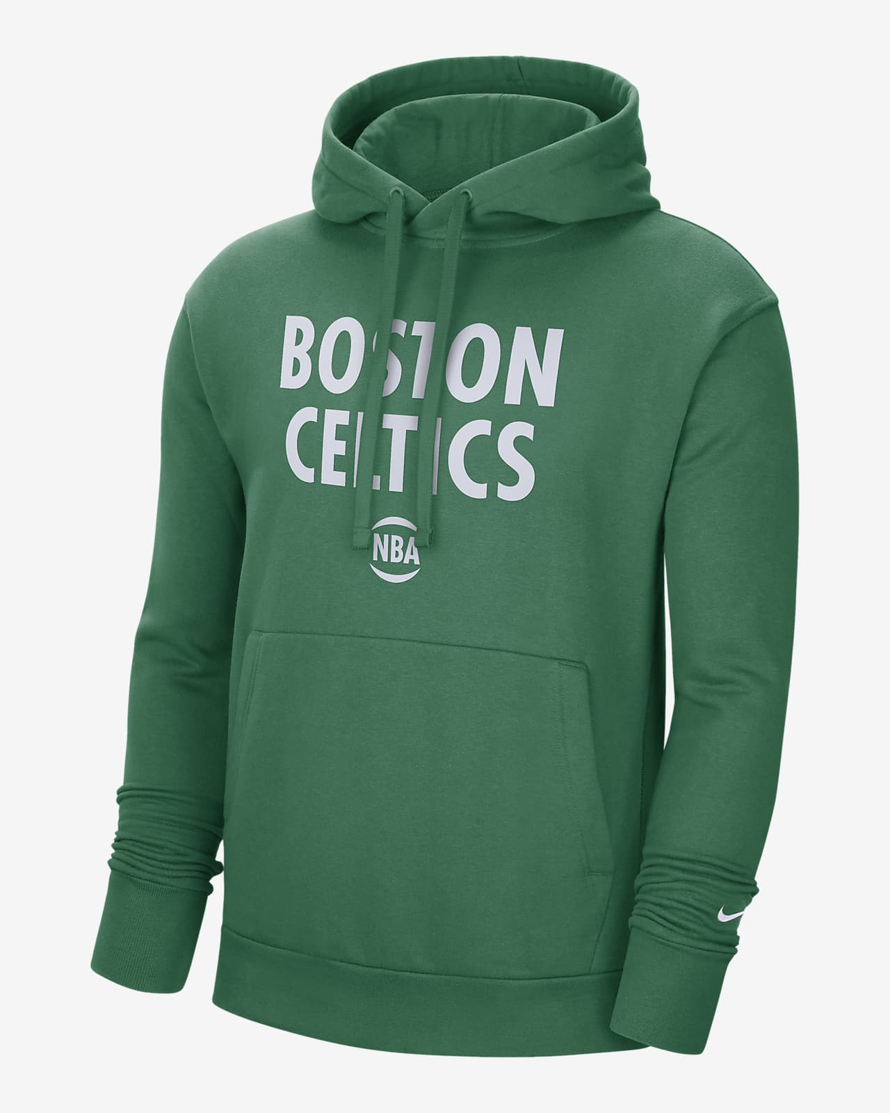 Boston Celtics City Edition Logo Men's Nike NBA Pullover Hoodie