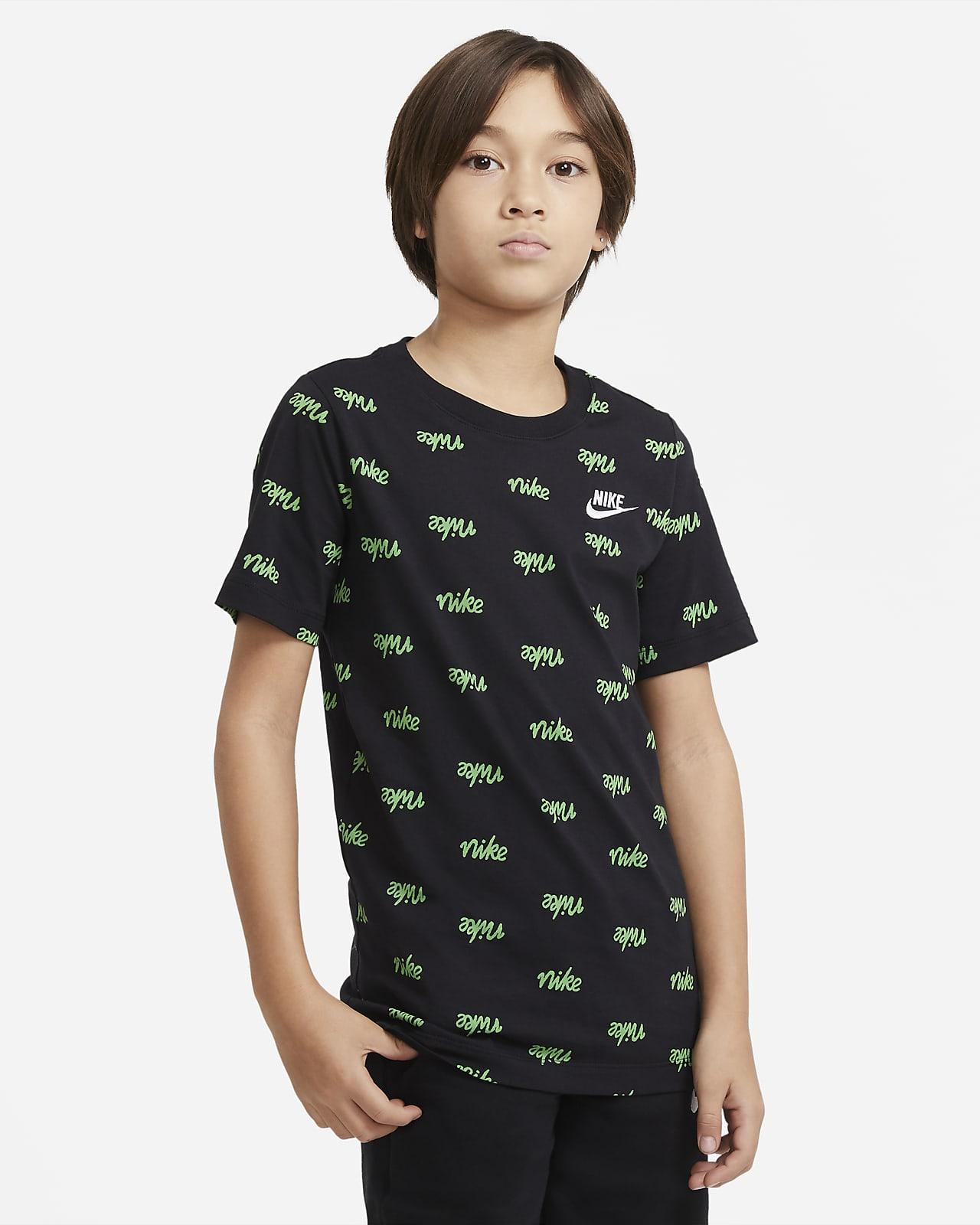 Tee-shirt imprimé Nike Sportswear Script pour Garçon plus âgé