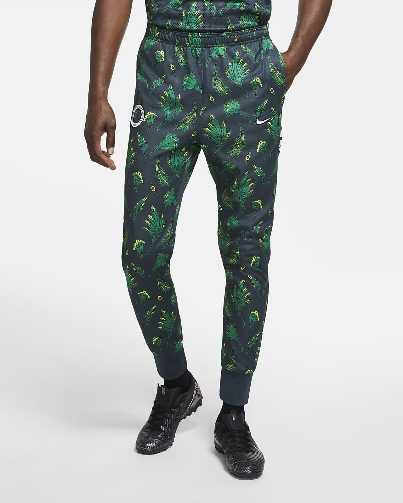Pantalones De Entrenamiento De Futbol Tejidos Para Hombre Nigeria Academy Nike Pr