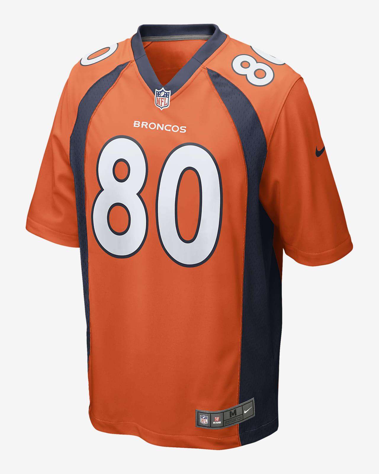 NFL Denver Broncos (Jake Butt) Men's Game Football Jersey