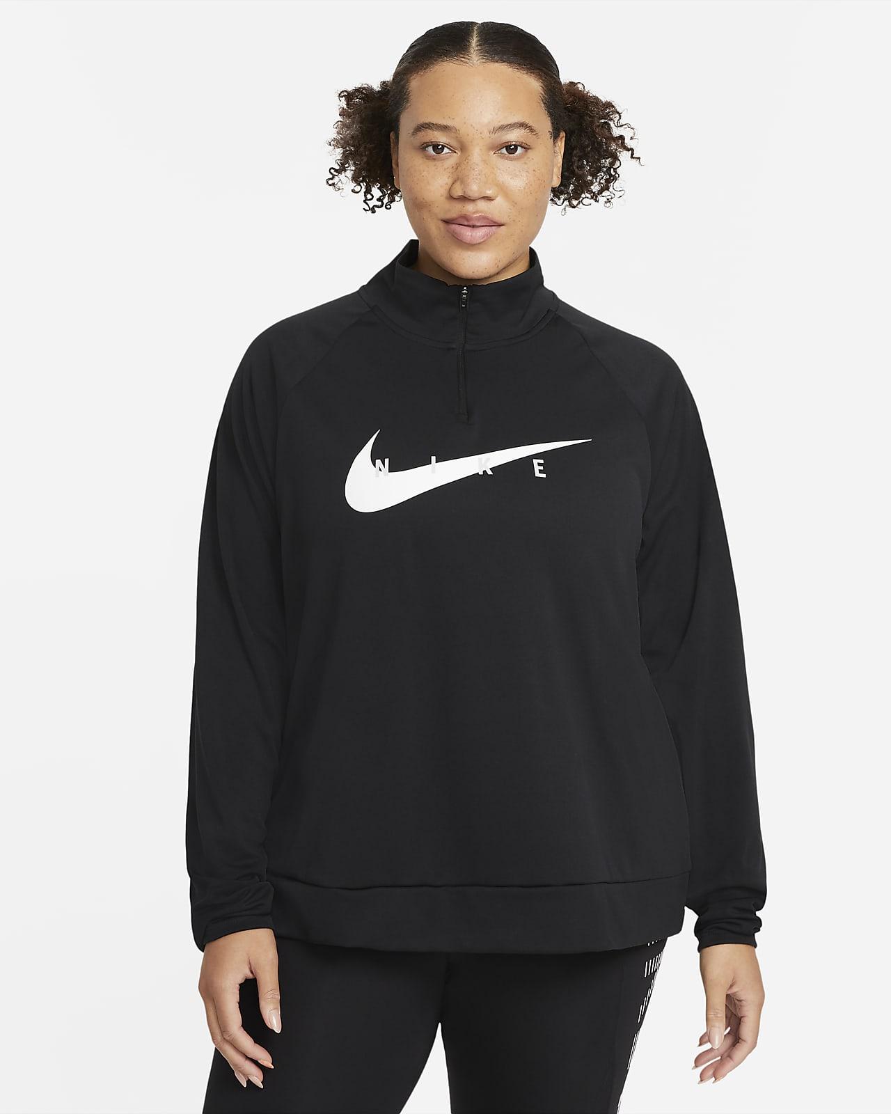 Haut de running Nike Swoosh Run pour Femme (grande taille)