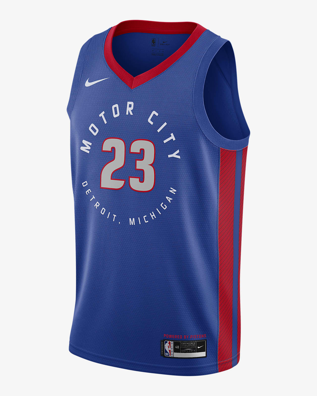 Detroit Pistons City Edition Nike NBA Swingman Jersey