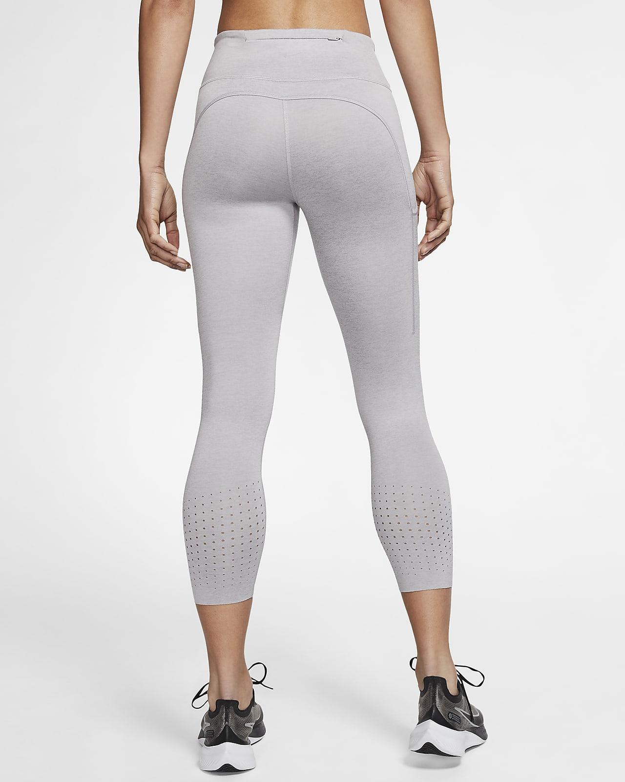 Mujer NIKE W Nk Epic LX Crop Pantalones de Deporte